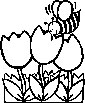 Africanized bee coloring pages