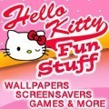 Hello Kitty Fun Stuff - Wallpapers, games, fonts